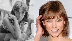 The Karlie Kloss haircut Jane Birkin hairstyle