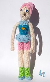 Ravelry: Pearl (Steven Universe) pattern by Hook and Line Crochet
