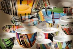 New illy Art Collection Espresso Cups RedOstelinda.com