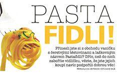 Hlavní strana - Pasta Fidli Pasta, Pasta Recipes, Pasta Dishes