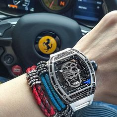 . @stinghd style #B453 in python  stingray vs Richard Mille #tourbillon . -  courtesy of @spjeweler . - #successful #supercars #success #timepiece #winning #elite #richardmille #richardmilletourbillon #stinghd #stingray #python #skin #rich #richest #private #Paradise #peaceful #petrolheads #photografer #photography #photooftheday #ferrari #ferrari488gtb by 100millionares