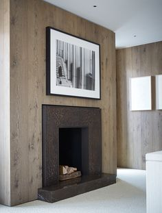 Fire place - House in St Moritz by Todhunter Earle