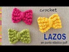 For our today's article we have decided to bring you some of the most beautiful and lovely designed crochet bows. These are probably the cutest bows I have ever seen … Crochet Bow Pattern, Love Crochet, Beautiful Crochet, Crochet Flowers, Crochet Baby, Crochet Patterns, Crochet Ideas, Crochet Tools, Crochet Gifts