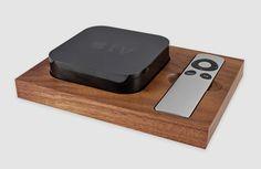 Apple TV Holder: Holzablage für Apple's Media Player - unhyped.
