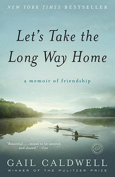 This is the heart-warming and heart-wrenching story of the author's deep friendship with writer Caroline Knapp. Through rowing, swimming, writing, their dogs, and sharing life experiences, they nurture a connection that we would all love to have with someone. An honest and unforgettable tribute to best friends.