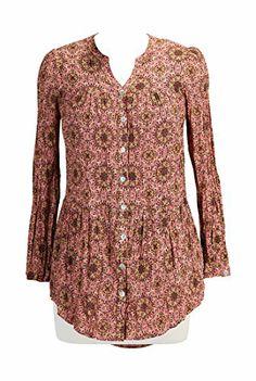 eShakti Women's Tiered cotton print shirt 4X-28W Short Peach multi eShakti http://www.amazon.com/dp/B00L29FOFO/ref=cm_sw_r_pi_dp_DtFOtb1PMG37VSQA