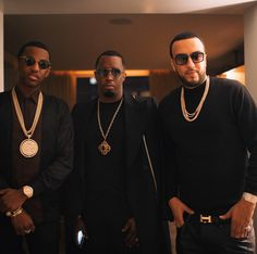 Diddy, R&B crooner Usher, rappers Fabolous, French Montana