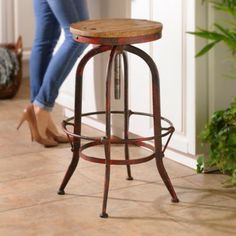Complete your kitchen or dining room with stools from Kirkland's! Find bar stools, counter stools, and more in our trendy selection of kitchen seating. Turquoise Bar Stools, Red Bar Stools, Outdoor Bar Stools, Metal Bar Stools, Kitchen Stools, Counter Stools, Industrial Bar Stools, Kitchen Industrial, Industrial Living