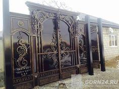 Front Gates, Entrance Gates, Entry Doors, Steel Gate Design, Iron Gate Design, Home Stairs Design, Door Design, Modern Window Grill, Big Doors