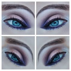 Purple eyeshadow. Vice 4 urban decay #urbandecay #vice4 #purple