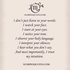 This is so me!! #scorpio