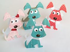 Puppy cards for girls and boys