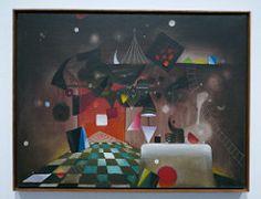 Antoni Tapies : Parafaragamus, 1949.   madrid art museum