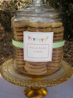 1st birthday cookie bar in the park by Sweets & Celebrations
