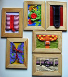 petit budget et gain de place ! DIY Montessori Dressing Frames - Color Your Life in Joy