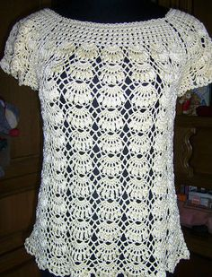 The crochet blouses are my favorite ... I love to crochet !!!!