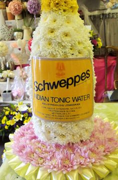 Tonic To Go With The Gin Sympathy Flowers Funeral Flowers Flower Arrangements
