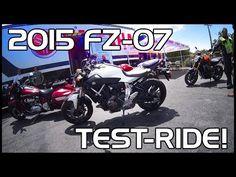 ▶ Bike Test: 2015 Yamaha FZ-07 - YouTube