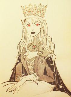 Twitter / CoryLoftis: Vampire Queen for the lich ...