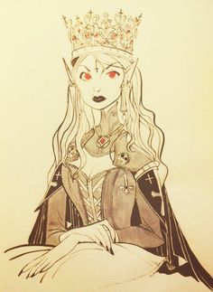 Twitter / CoryLoftis: Vampire Queen for the lich ... ★ || CHARACTER DESIGN REFERENCES | キャラクターデザイン • Find more artworks at https://www.facebook.com/CharacterDesignReferences & http://www.pinterest.com/characterdesigh and learn how to draw: #concept #art #animation #anime #comics || ★