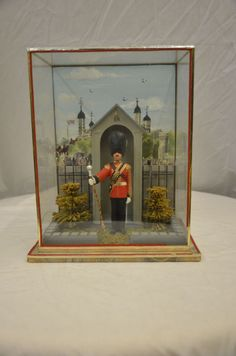 Narcissa Niblack Thorne Miniature Room Shadow Box of Buckingham Palace Guard
