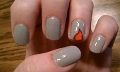 Girl On Fire Nail Art (with Nail Art Tips and Tricks)