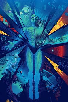 Kevin Tong's Watchmen print