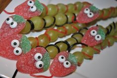 Funny candy grape treat! Easy to make.