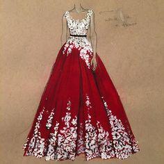 Onwards to greatness!❤️❤️ #CustomMade #art #dress #fashion #fashionart