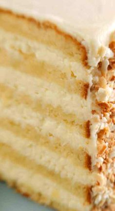Ultimate Coconut Cake ~ This delicious, multi-layered coconut cake is courtesy of Robert Carter from the Peninsula Grill, in Charleston, South Carolina.