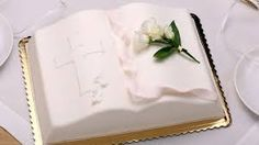 torty komunijne – Szukaj wGoogle Easy Cupcake Recipes, Homemade Desserts, Dessert Recipes, Home Made Cupcakes, First Holy Communion Cake, Religious Cakes, Buttercream Fondant, Vanilla Cupcakes, Cupcake Cookies