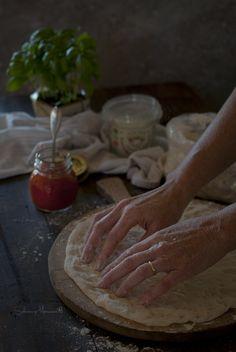 Sabores y Momentos | Pizza Margarita {Receta sin amasado de Ib�n Yarza} | http://saboresymomentos.es
