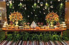 mesas de doces decoração do casamento - Buscar con Google