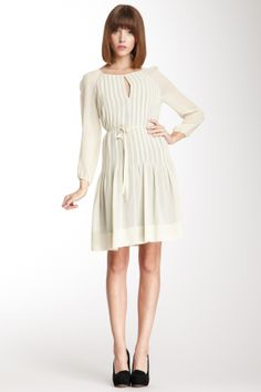 Orla Kiely Silk Georgette Raglan Dress