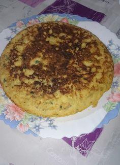tortilla de patata,calabacin y beicon para #Mycook http://www.mycook.es/cocina/receta/tortilla-de-patatacalabacin-y-beicon