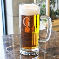 Contemporary Beer Mug + More Personalized Beer Mugs & Steins | NFL, MLB, College Mugs, Koozies, Can Wraps