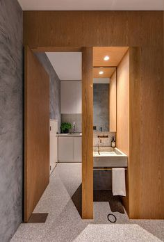 """""""Rawson House is the transformation of an existing 1900's semi-detached cottage in Sydney...."""
