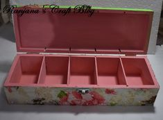 Decoupage on a storage Tool Box, Decoupage, Storage, Design, Toolbox, Purse Storage, Larger, Tool Cabinets