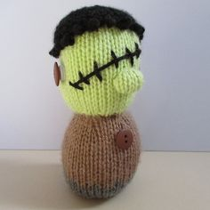 Ravelry: Frankenstein and Mummy pattern by Amanda Berry