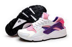 Nike Air Huarache Womens Shoe White Purple Pink