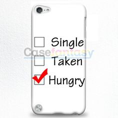Custom Single Taken Hungry Cute Cool Funny iPod Touch 5 Case | casefantasy