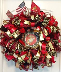 Marine Corps Christmas Tree Topper | Tree toppers, Marine corps ...