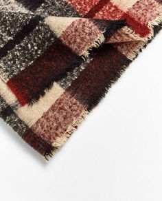 Image 2 of SOFT CHECK SCARF from Zara
