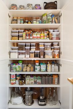 Container Store Kitchen & Pantry organizing products and ideas.