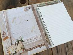 Redesign - gammel bok til ny skissebok