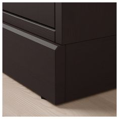 IKEA - HAVSTA Glass-door cabinet with base dark brown clear glass