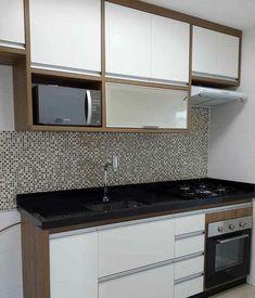 Não sei de quem é essa cozinha, mas amei ❤️ #Decor #decora #decoracao #decorando #decoration #desing #detalhes #details #apartamento #apartamentopequeno #apartamentodecorado #cozinha #cozinhapequena #cozinhaplanejada #casanova #inspiração #inspiration
