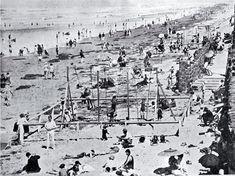 New Brighton beach at Christmas  1927