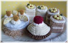Sweet CakesPDF crochet pattern by KTBdesigns on Etsy
