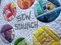 Like the quilt idea in the pin pic. No idea what's on the site. A Brave New Quilt Mini | Flickr - Photo Sharing! RedLetterQuilts.blogspot.com